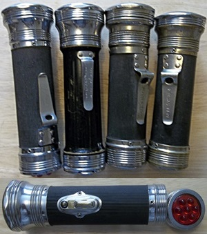 vintage bond flashlights