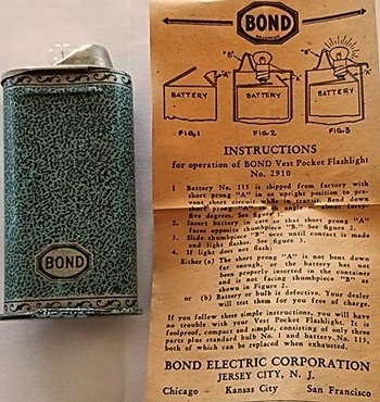 bond vest pocket