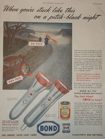 Bond flashlight add