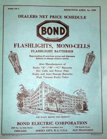 Bond Flashlight Flyer