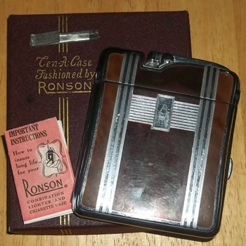 ronson case lighter