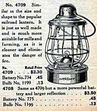 Eveready Lantern Ad