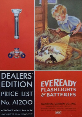 1934 Eveready Catalog