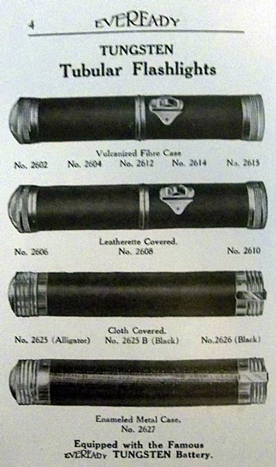 eveready flashlights