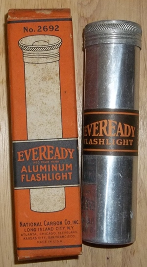 Eveready Switchless Flashlight