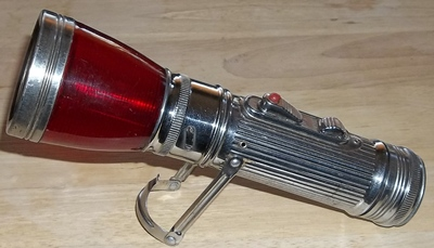 vintage flashlight