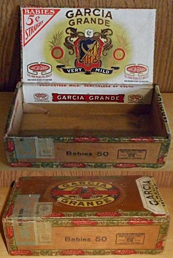 garcia grande cigar box