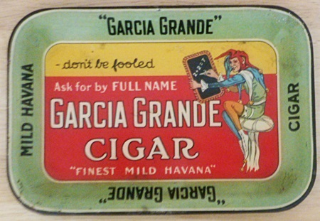 garcia grande cigar tip tray