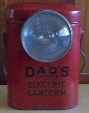 Dad's Electric Lantern