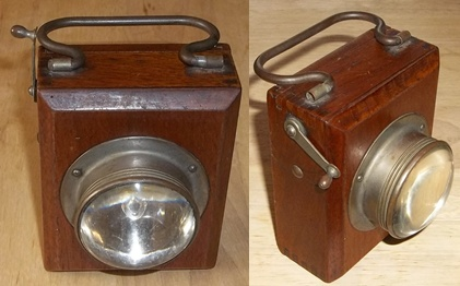 british box lantern