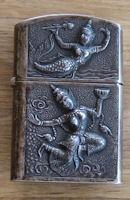 old silver lighter