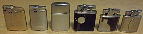 vintage ronson lighters