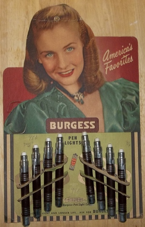 Burgess Penlite Display