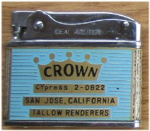 crown lighter