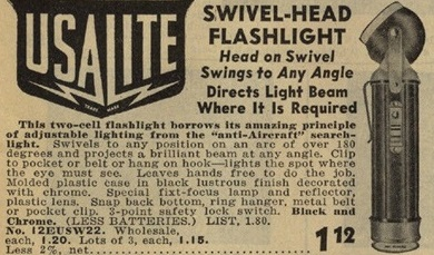 USA LITE Swivel-Head