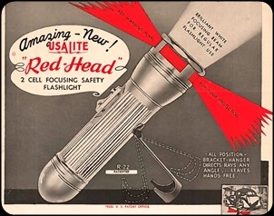 USALITE Redhead flashlights