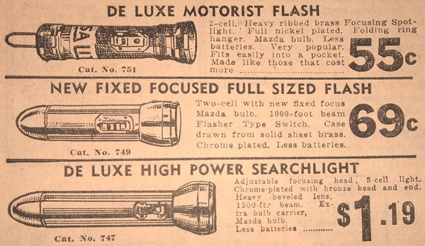 usa lite flashlights