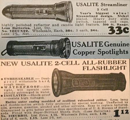 usalite flashlights