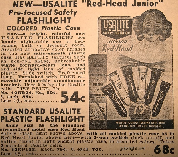 usalite flashlights