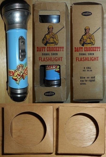 Davy Crocket Flashlight